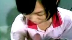 Chinese Teen Sensual Blow Job Session