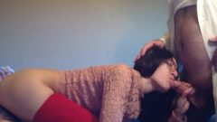 Small Teen Blows StepDaddy's Huge Cock – Liz Lovejoy- Lizlovejoy.manyvids.com