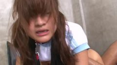 Collared And Bound Thai Receives A Fierce Doggy Style Banging