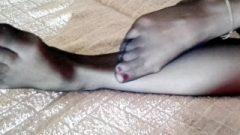 Arousing Nubile School Girl Shows Us Seductive Legs And Feet In Nylon Stockings ! 18y 4k