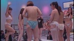 Nippon Game Show: Sluts Stripping Yakyuken Rock Paper Scissors