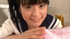 Asian School Girl Mion Kamikawa Has Slippery Massage Sex