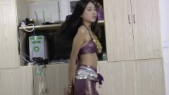 Steamy Chinese Belly Dancing While Tied Up V1