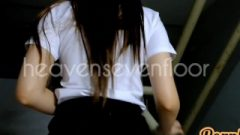 Thai Scholar ไทย น้องริน ม.ดังขาวสวย ครางเสียว เสียงไทยชัดเจน