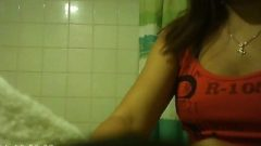 Asian Cleaning Girl Shower