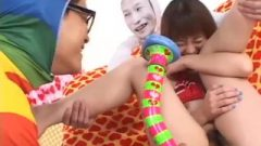 Subtitled Enf Cmnf Nippon Rubber Toy Play With Miyuki Hourai