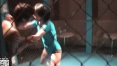 Grappling 1125 Nippon Chick Cage Match