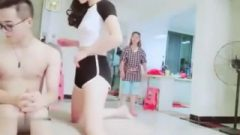 Chinese Brother Fuck's Stespister On Live While Mom Nearby!(mom Titty Showed)