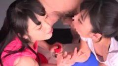 Arm Wrestler Blow Job Weird Asian Game Show 2 Yui Kawagoe Vs Sesera Haruk