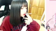 Pretty Chinese Slut Smoking 1