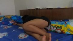 Japanese Busty Stepsister Takes Creampie