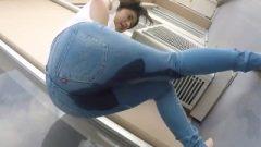 Nippon Female Wets Her Pants